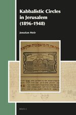 Cover Kabbalistic Circles in Jerusalem (1896-1948)