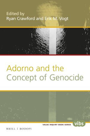 Cover Adorno and the Concept of Genocide