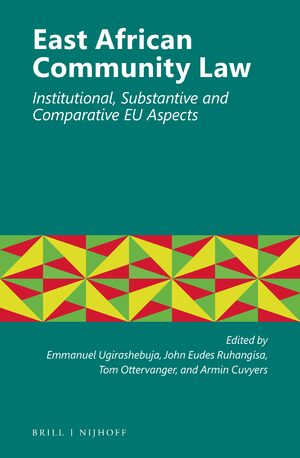 Cover East African Community Law
