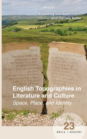 Cover English Topographies in Literature and Culture