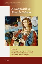 Cover A Companion to Vittoria Colonna