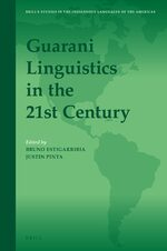 Cover Guarani Linguistics in the 21st Century