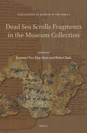 Cover Dead Sea Scrolls Fragments in the Museum Collection