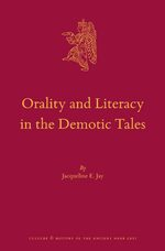 Cover Orality and Literacy in the Demotic Tales