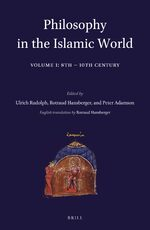 Cover Philosophy in the Islamic World