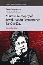 Cover Marx's Philosophy of Revolution in Permanence for Our Day