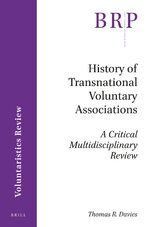 Cover History of Transnational Voluntary Associations