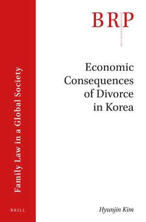 Cover Economic Consequences of Divorce in Korea