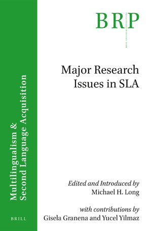 Cover Major research issues in SLA