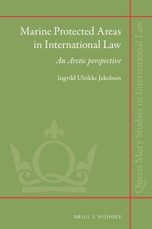 Cover Marine Protected Areas in International Law