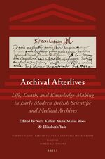 Cover Archival Afterlives