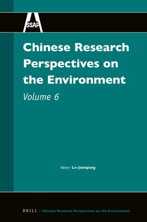 Cover Chinese Research Perspectives on the Environment, Volume 6