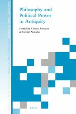Cover Philosophy and Political Power in Antiquity