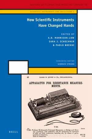 Cover How Scientific Instruments Have Changed Hands
