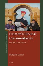Cover Cajetan's Biblical Commentaries