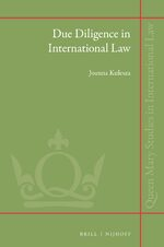 Cover Due Diligence in International Law