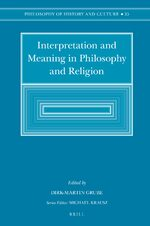 Interpretation and Meaning in Philosophy and Religion