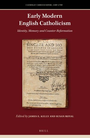 Cover Early Modern English Catholicism