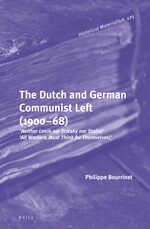 Cover The Dutch and German Communist Left (1900–68)
