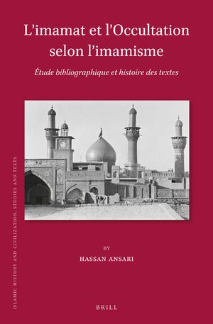 Cover L'imamat et l'Occultation selon l'imamisme