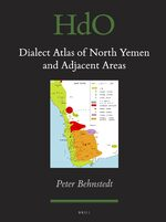Cover Dialect Atlas of North Yemen and Adjacent Areas