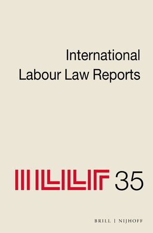 Cover International Labour Law Reports, Volume 35