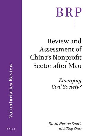 Cover Review and Assessment of China's Nonprofit Sector after Mao