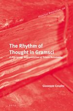 Cover The Rhythm of Thought in Gramsci