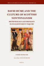 Cover David Hume and the Culture of Scottish Newtonianism