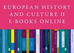 Cover European History and Culture E-Books Online, Collection 2017-II