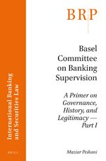 Cover Basel Committee on Banking Supervision