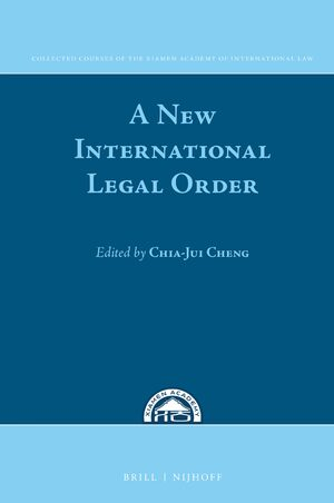 A New International Legal Order
