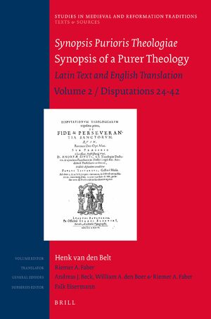 Cover Synopsis Purioris Theologiae / Synopsis of a Purer Theology