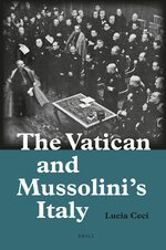 Cover The Vatican and Mussolini's Italy