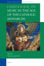 Cover Companion to Music in the Age of the Catholic Monarchs