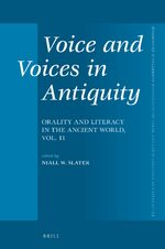Cover Voice and Voices in Antiquity