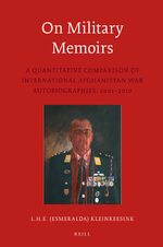 Cover On Military Memoirs