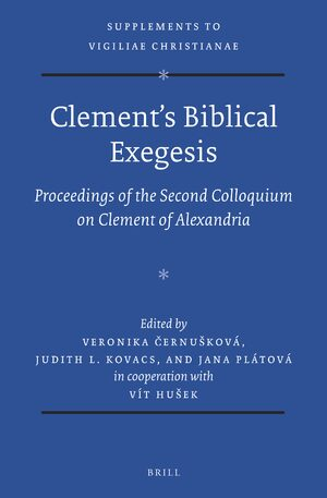 Cover Clement's Biblical Exegesis