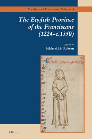 Cover The English Province of the Franciscans (1224-c.1350)