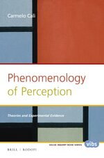 Cover Phenomenology of Perception