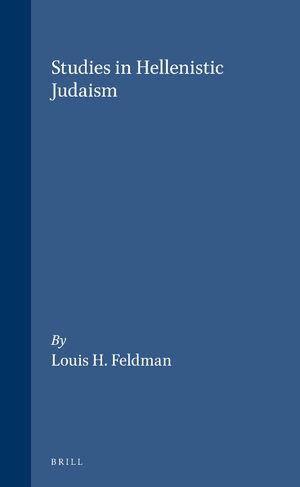 Cover Studies in Hellenistic Judaism