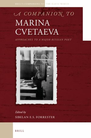 Cover A Companion to Marina Cvetaeva