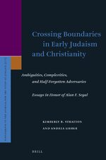 Cover Crossing Boundaries in Early Judaism and Christianity