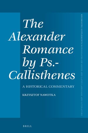 Cover The Alexander Romance by Ps.-Callisthenes