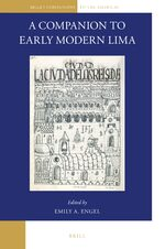 Cover A Companion to Early Modern Lima