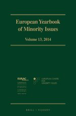 European Yearbook of Minority Issues, Volume 13 (2014)