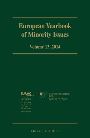 Cover European Yearbook of Minority Issues, Volume 13 (2014)