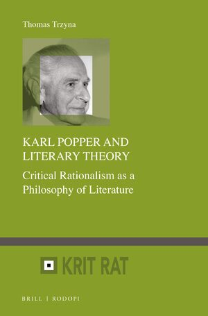 Cover Karl Popper and Literary Theory