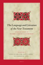 Cover The Language and Literature of the New Testament