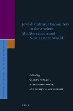 Cover Jewish Cultural Encounters in the Ancient Mediterranean and Near Eastern World